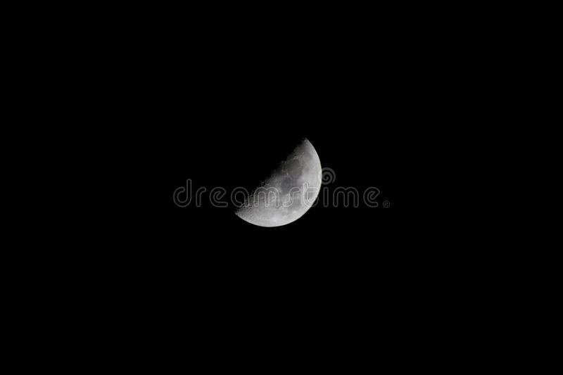 Half moon royalty free stock images