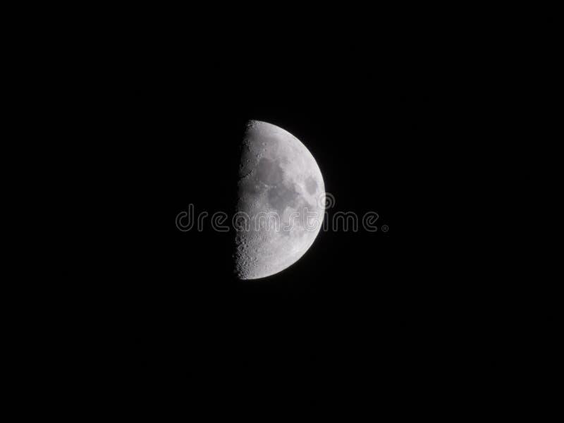 Half moon with surfase stock photos