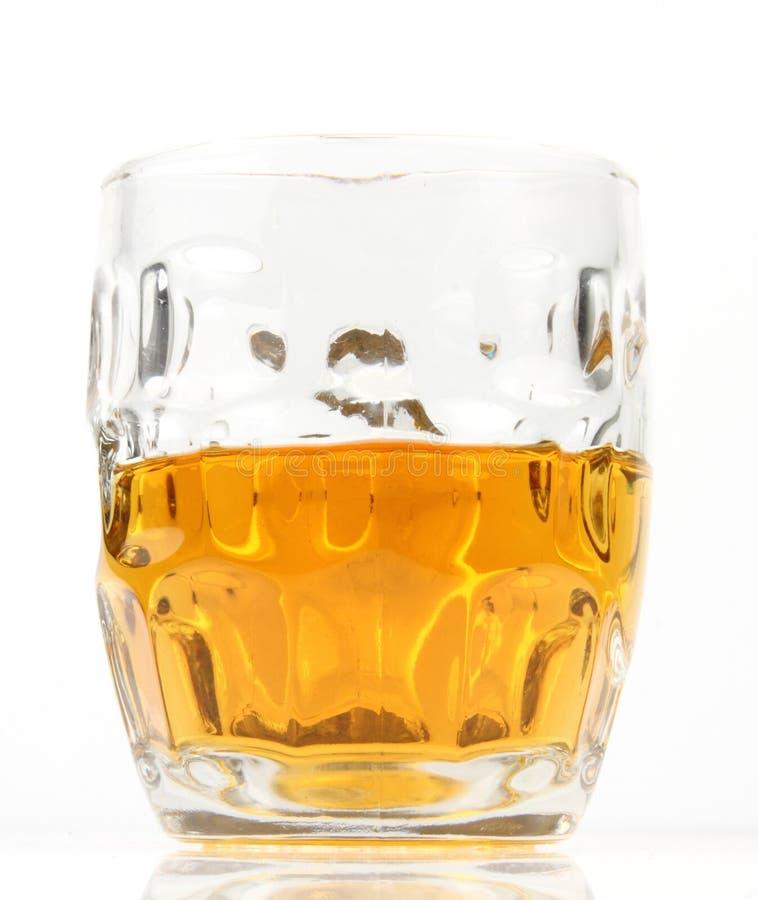 Half Mug Of Beer Stock Photos