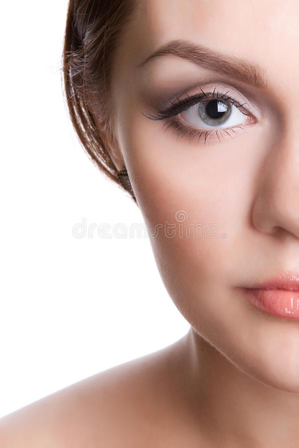 Free Half Of Female Face Stock Photo - 11500340