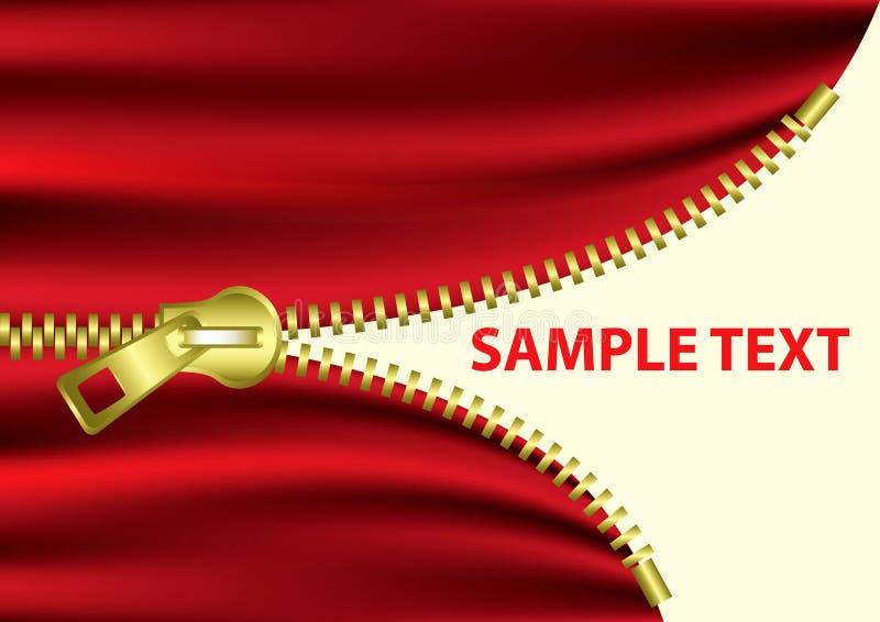 Download Half Open Zipper -EPS Vector- Stock Vector - Image: 8506106