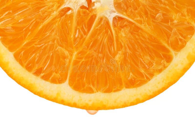 half orange Frukt arkivfoto