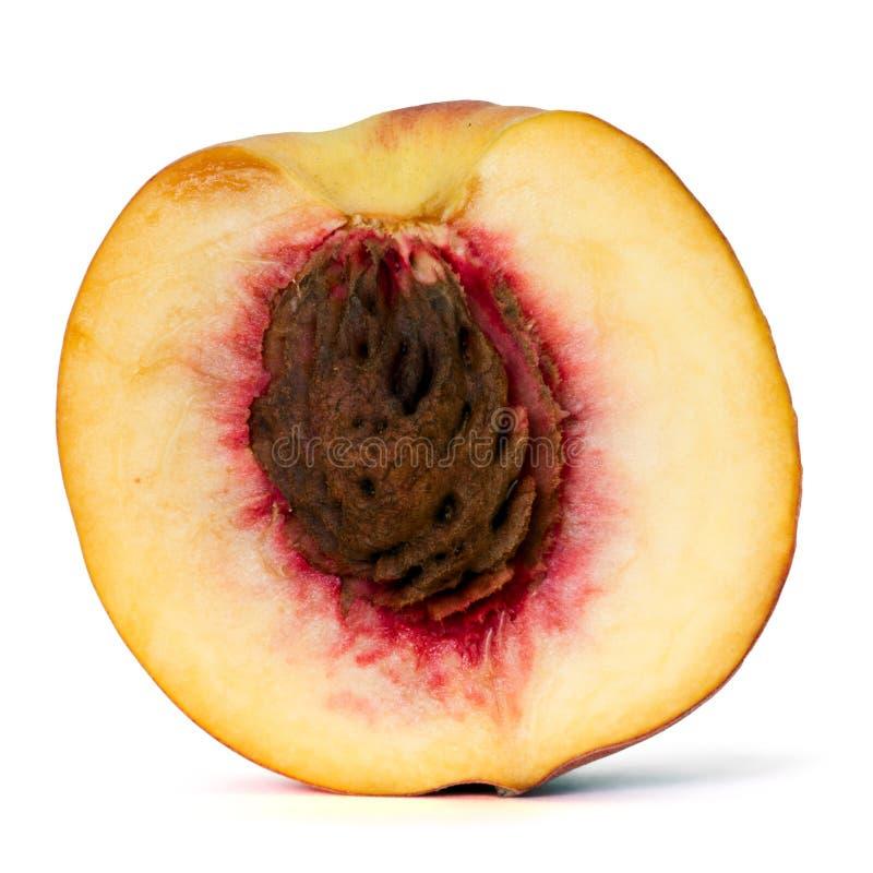 Half peach stock photos