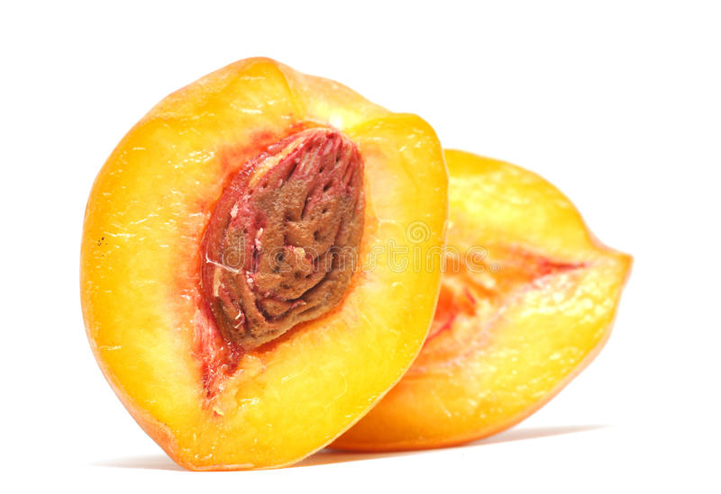 half persika arkivbild