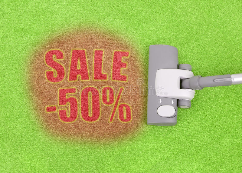 Download Half price sale concept stock photo. Image of part, business - 11077160