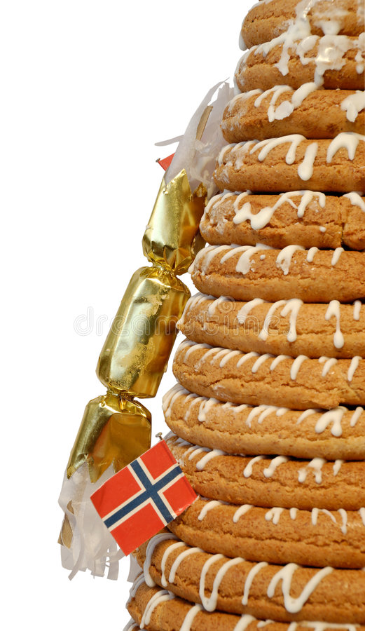 Download Half Ring Cake & Cracker stock image. Image of space, pastry - 4157365