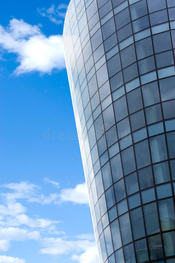 Half Round Glass Building Stock Photo Image Of Wall