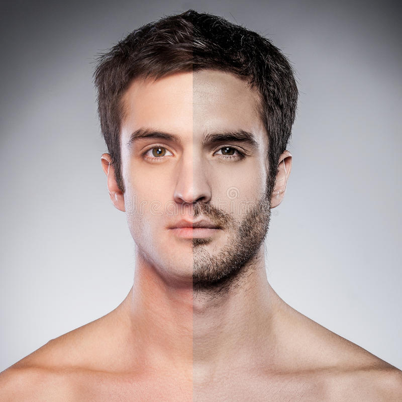 Download Half Shaved. Stock Photo - Image: 38903673