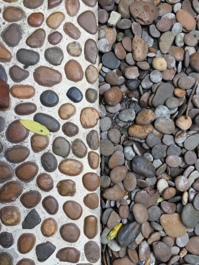 Half stones royalty free stock images