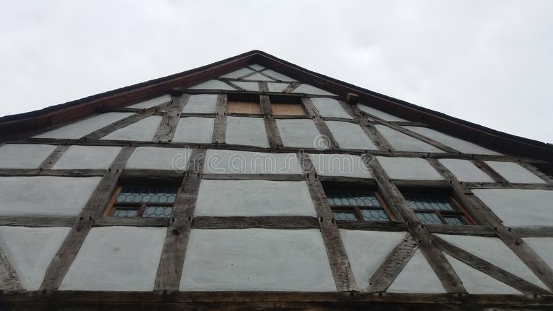 A half-timbered house royalty free stock photography