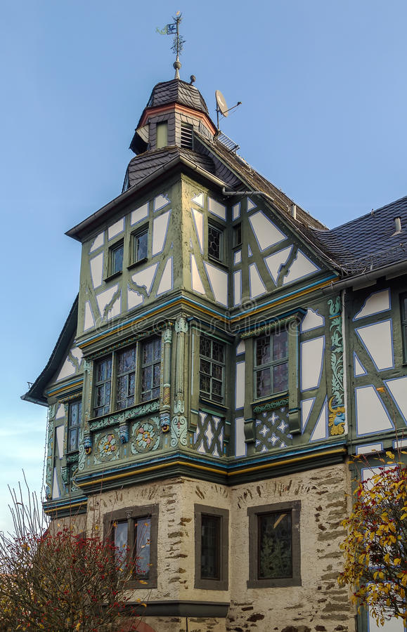 Half-timbered house in Idstein,Germany. Historical half-timbered house in Idstein, Hesse, Germany royalty free stock images