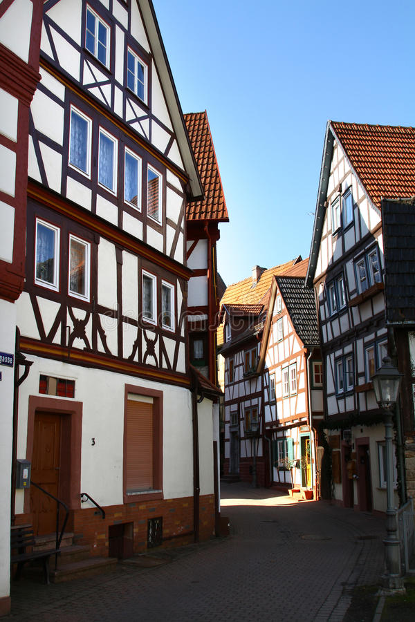 Download Half Timbered Houses stock photo. Image of timbered, centuries - 19111996