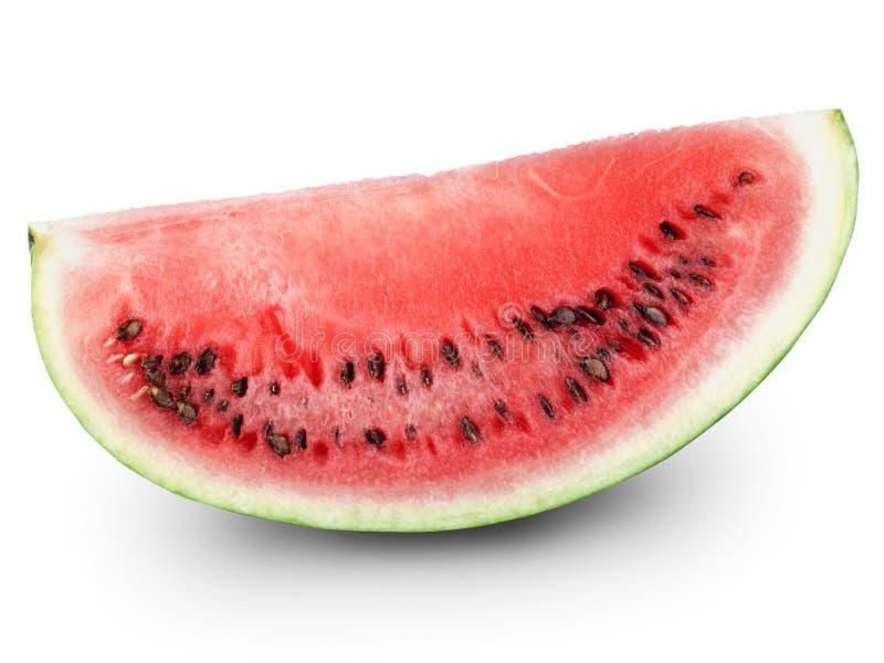 half vattenmelon arkivbilder