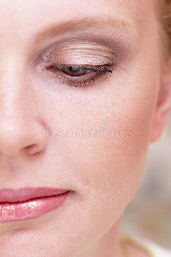 Download Half of woman face stock image. Image of half, fresh - 10229481