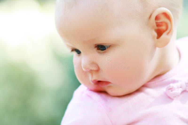 Half-year-old child stock photo