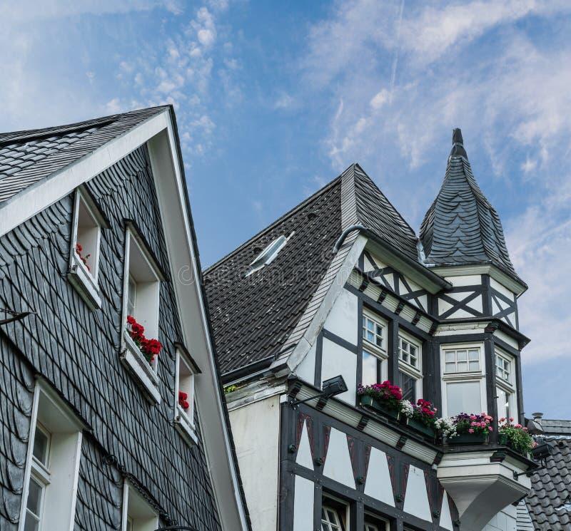 Halftimbered dom zdjęcie royalty free