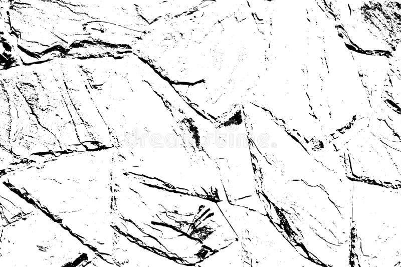Halftintenachtergrond Nood Vuile Beschadigde Textuur Grungeeffect Vector illustratie EPS10 royalty-vrije illustratie