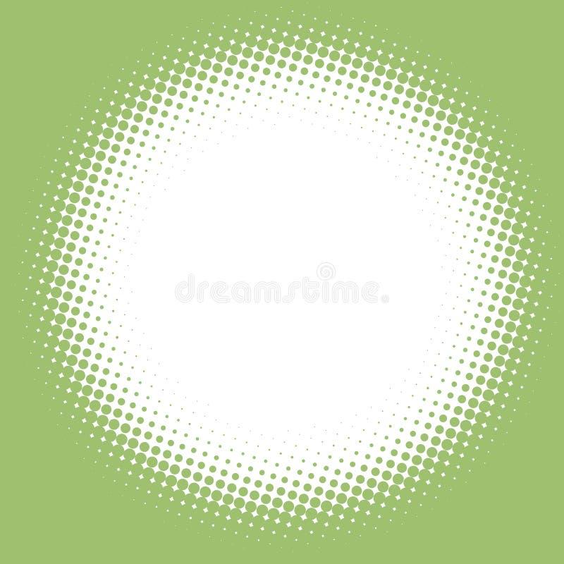 halftone рамки бесплатная иллюстрация