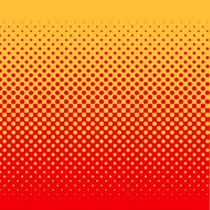 halftone иллюстрация вектора