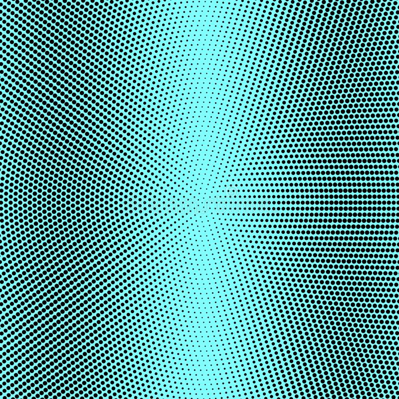 Halftone. Abstract gradient background of black dots. Vector illustration. Abstract background of black dots. Vector illustration stock illustration