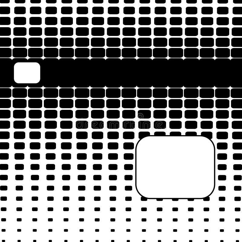 Halftone Abstracte Achtergrond royalty-vrije illustratie