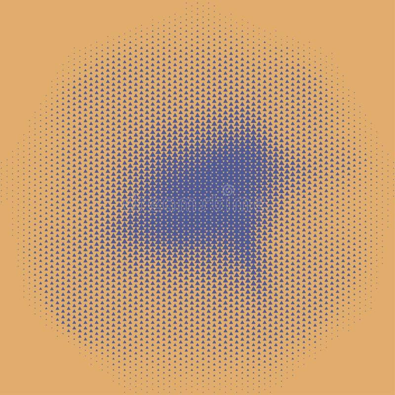 Halftone abstracte textuur royalty-vrije illustratie