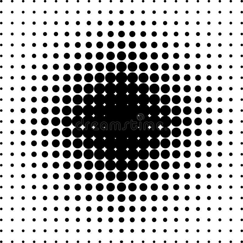 Halftone achtergrond vector illustratie