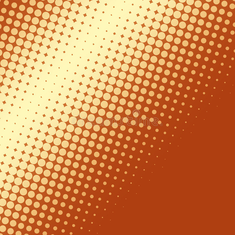 Halftone background stock illustration