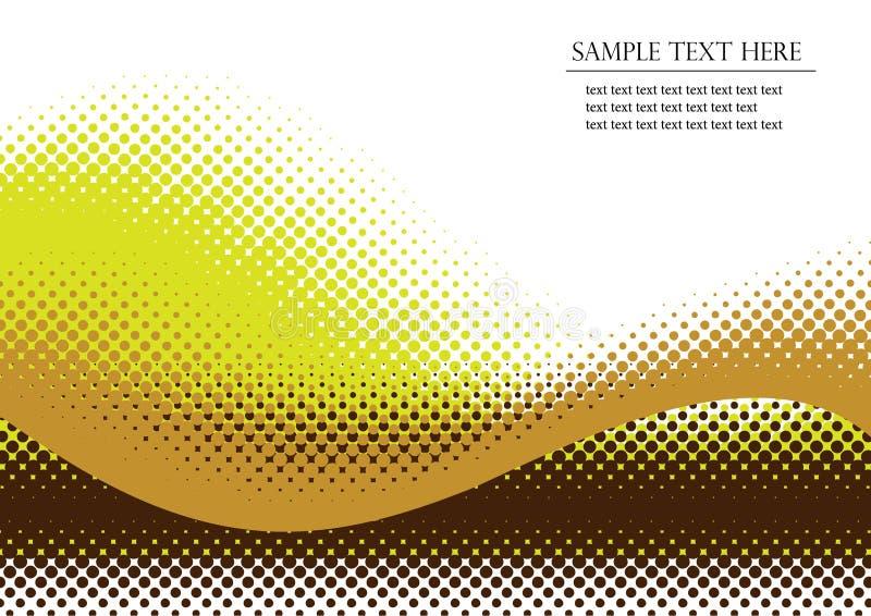 Halftone background vector illustration