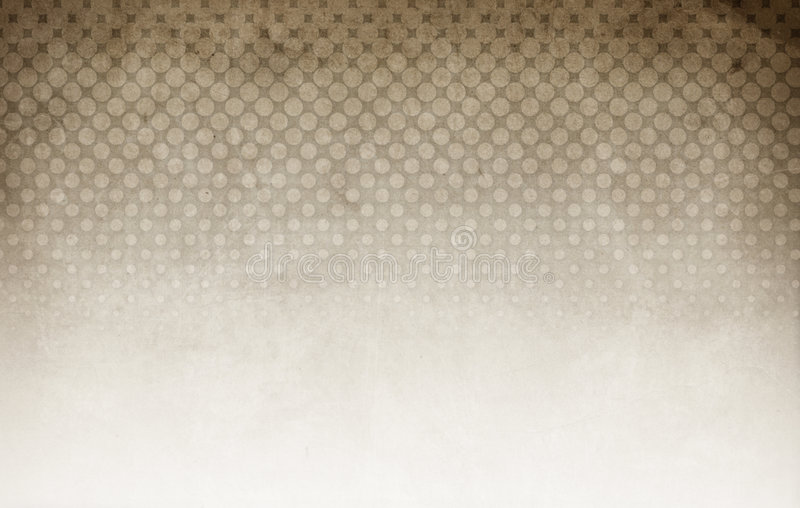 Halftone Background Brown Royalty Free Stock Photo