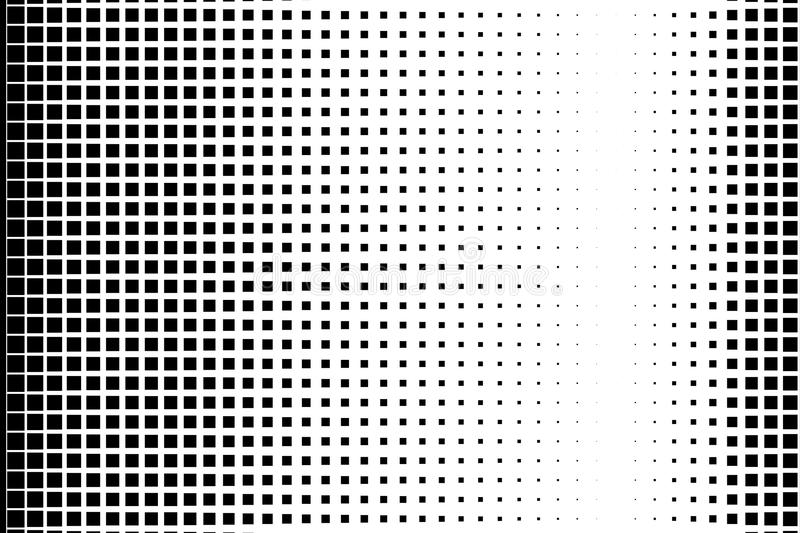 Download halftone background pop art comic style pattern with small squares black