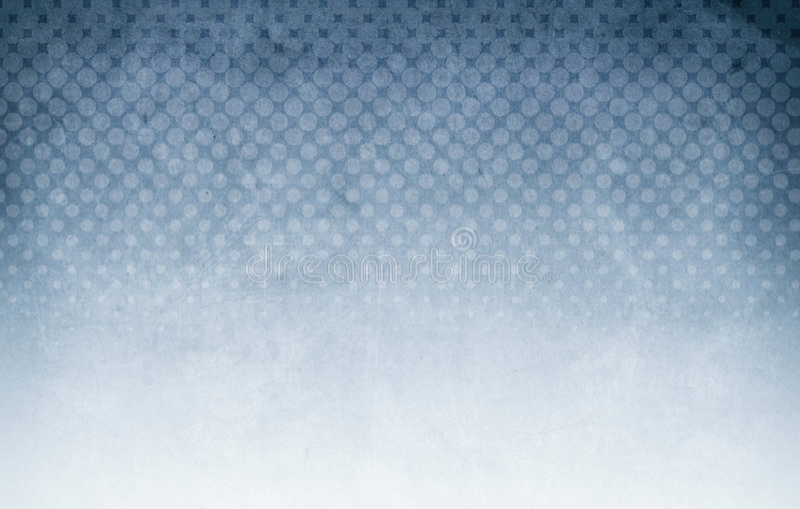 Halftone blauw als achtergrond stock foto