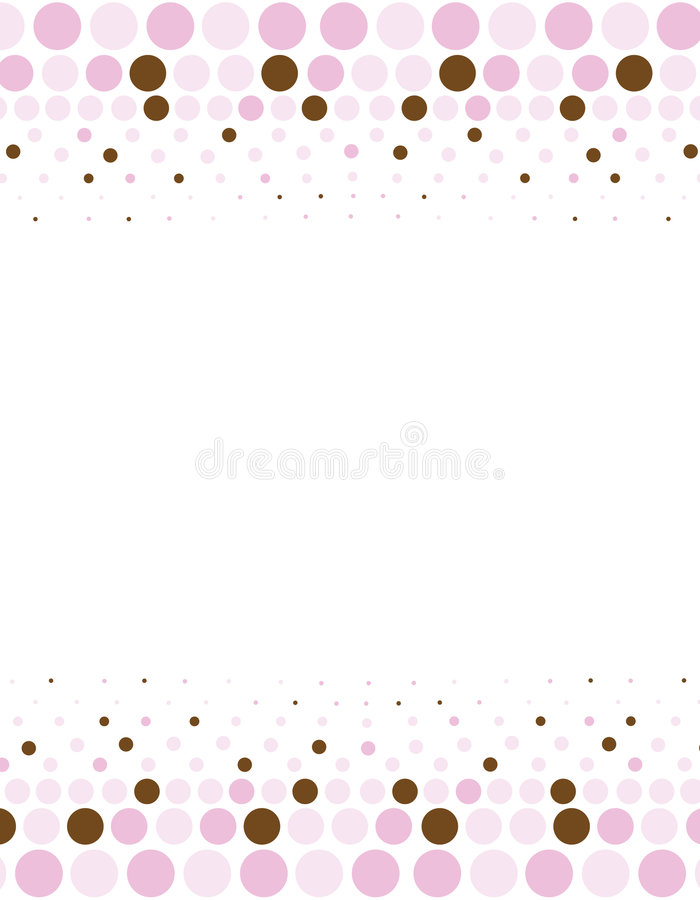 Halftone Border Royalty Free Stock Photos