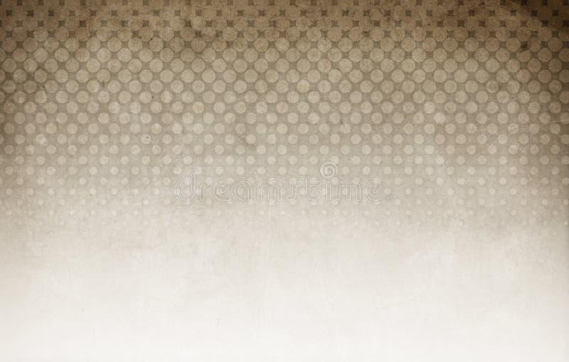 Halftone bruine achtergrond royalty-vrije stock foto