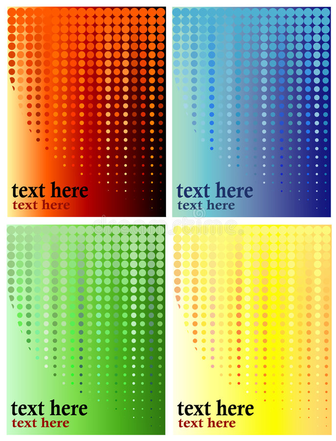 Download Halftone, Circles Background Stock Vector - Image: 5139242