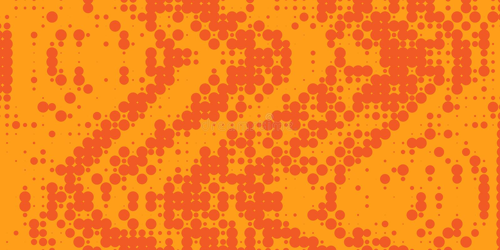 Gradient  futuristic pattern. Halftone colorful gradient background for design decoration. Abstract business bright grunge background. Minimal geometric stock illustration