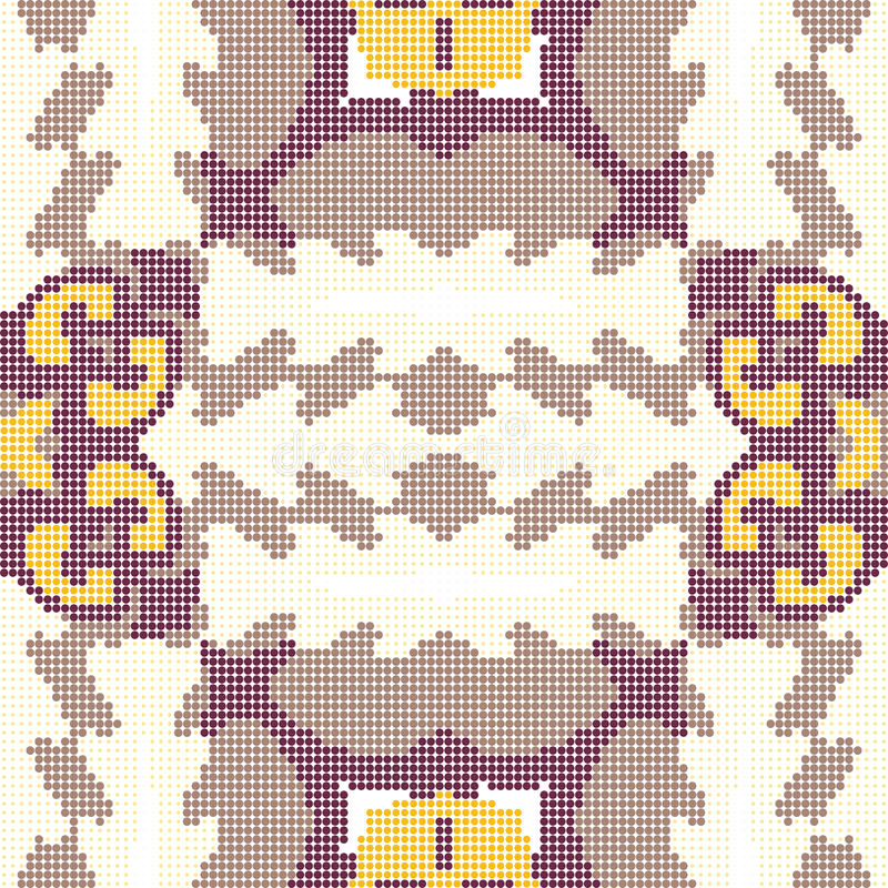 Halftone colorful seamless retro pattern elegant purple sawtooth geometry wave cross. Can be used for both print and web page vector illustration