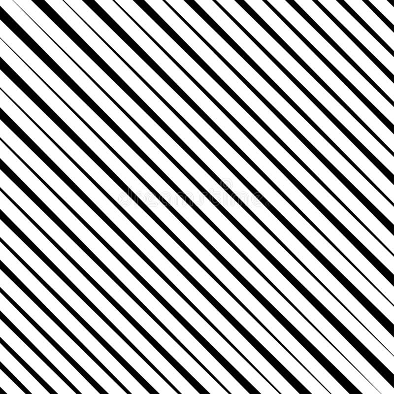 Halftone czarne przekątien linie Powt?rki prosto lampasy linie deseniuj? bezszwowego ilustracji