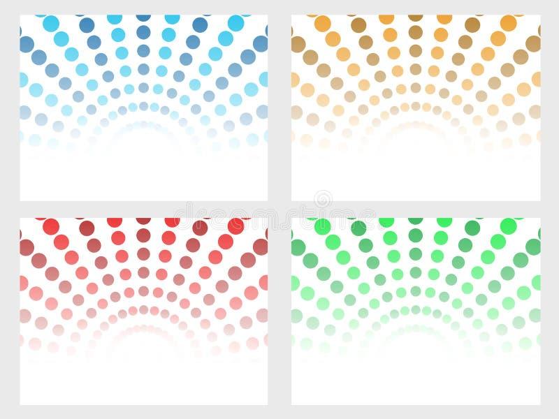 Download Halftone Dot Background Set Stock Photos - Image: 26089563