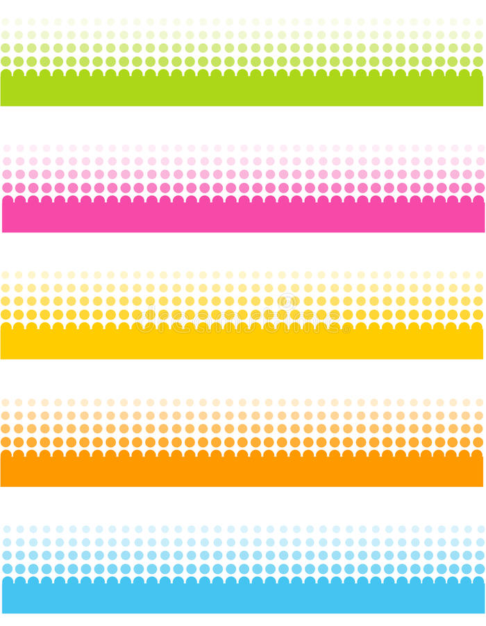 Halftone dots royalty free illustration