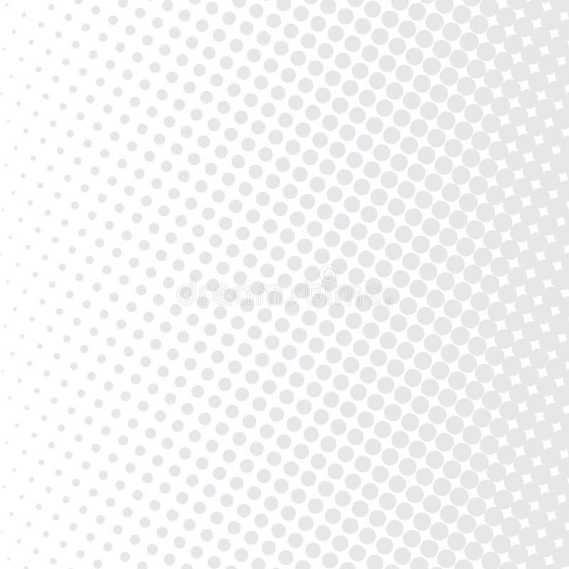 Halftone dots. gray dots on white background. Vector illustration vector illustration