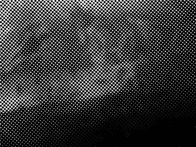 Halftone Dots Pattern . Distressed Background with Halftone Effects. Halftone Dots Pattern . Halftone Dotted Grunge Texture . Abstract Dots Overlay Texture royalty free illustration