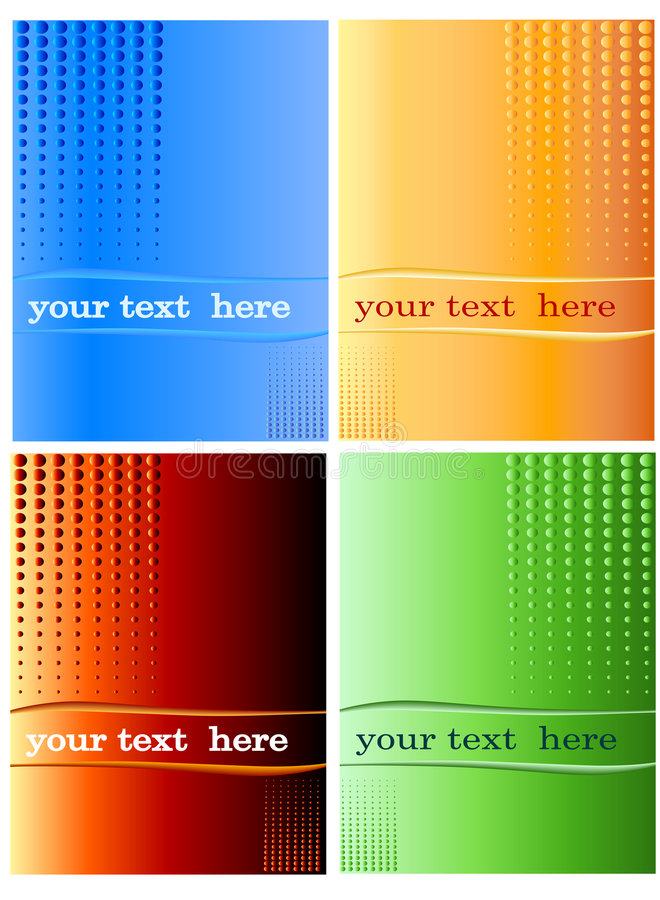 Free Halftone, Dotted Background Royalty Free Stock Photography - 5141057