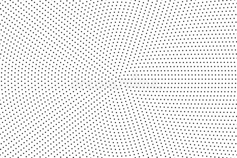 Halftone dotted background. Abstract monochrome backdrop. Pattern with small circles, dots stock illustration