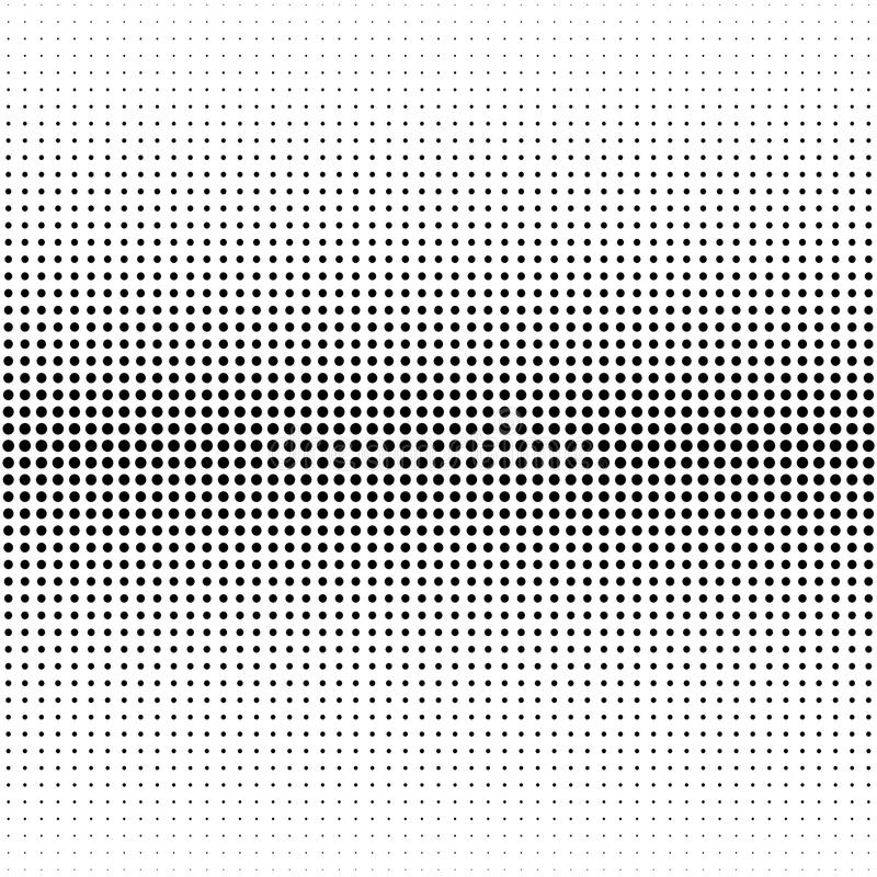 Halftone dotted background. Halftone effect vector pattern. Circle dots isolated on the white background. royalty free illustration