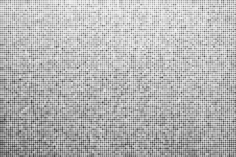 Halftone effect achtergrond Zwart-wit gestippelde achtergrond vector illustratie