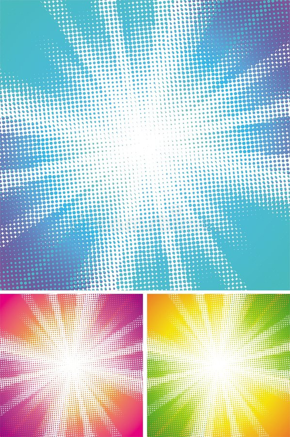 Download Halftone explosion stock vector. Image of design, flash - 9114881