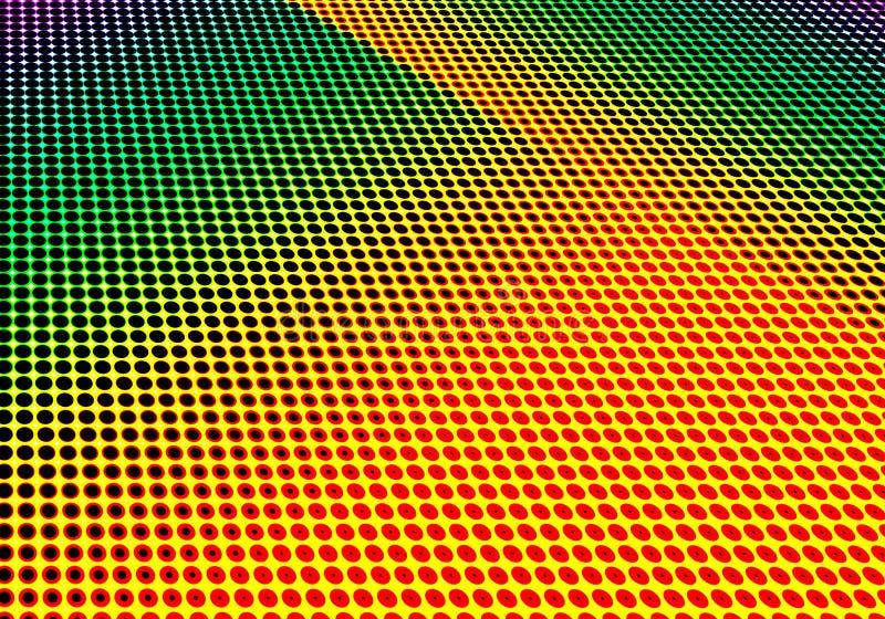 Halftone geometrische decoratieve minimale gestippelde papper als achtergrond vector illustratie