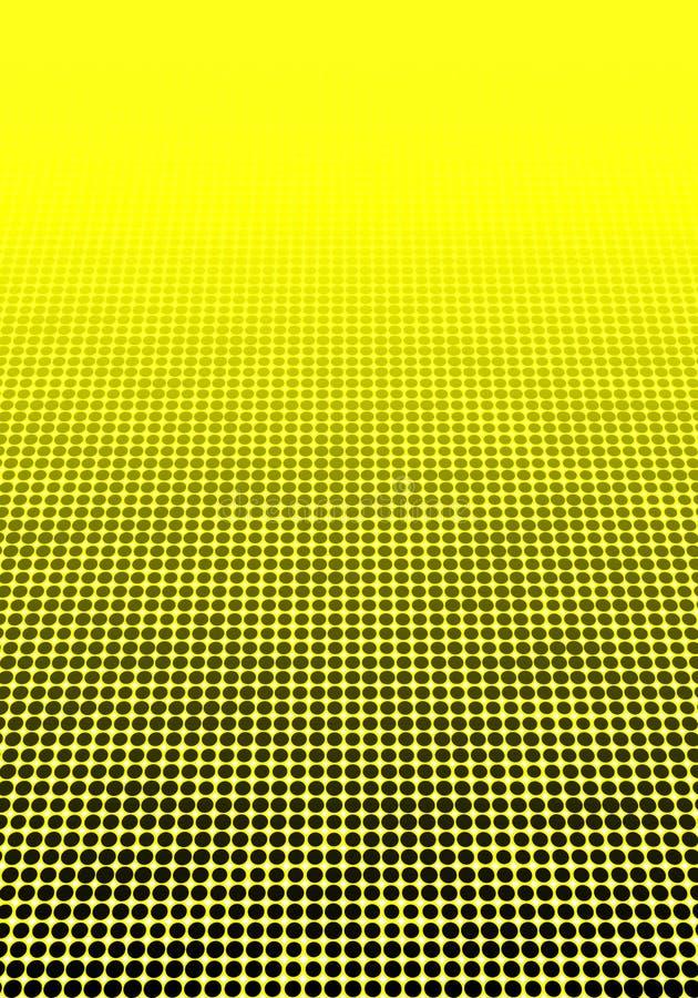 Halftone geometrische decoratieve minimale gestippelde papper als achtergrond stock illustratie