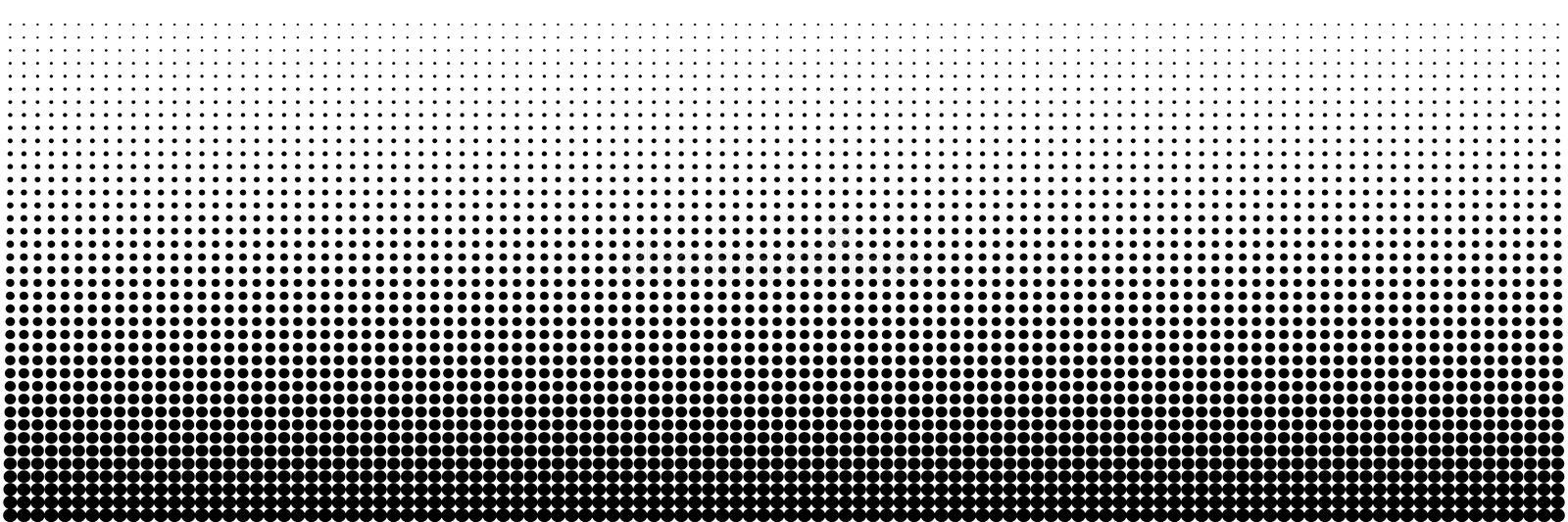 Dotted Background Vector Illustration, White And Black